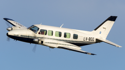 LV-BGG - Piper PA-31-350 Chieftain - Private