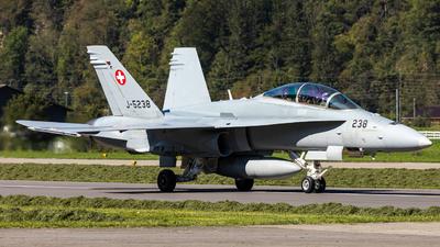A picture of J5238 - McDonnell Douglas F/A18D49 -  - © Marcel Moser