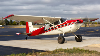 N180DE - Cessna 180A Skywagon - Private
