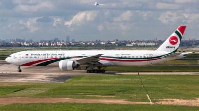 S2-AFP - Boeing 777-3E9ER - Biman Bangladesh Airlines
