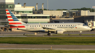 A picture of N102HQ - Embraer E175LR - American Airlines - © DJ Reed - OPShots Photo Team