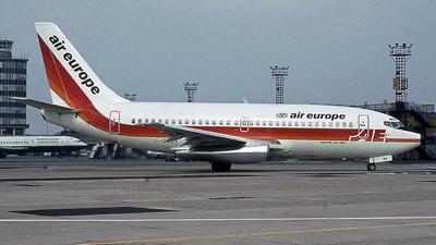 G-DDDV - Boeing 737-2S3(Adv) - Air Europe