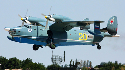 RF-12009 - Beriev Be-12 - Russia - Navy
