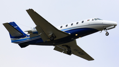 A picture of V5NDB - Cessna 560XL Citation Excel - [5605267] - © Justin Kennerley