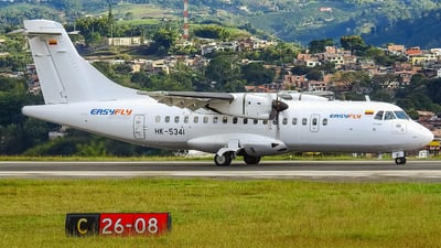 A picture of HK5341 - ATR 42600 - EasyFly - © Omar Zapata
