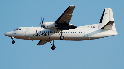 PH-JXN - Fokker 50 - Denim Air