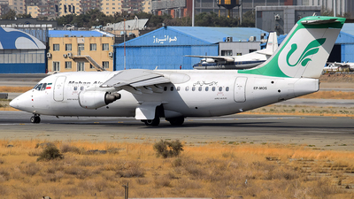 EP-MOS - British Aerospace Avro RJ85 - Mahan Air