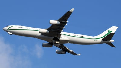 9H-BIG - Airbus A340-313X - Air X Charter