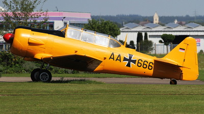 AA-666 - Canadian Car and Foundry Harvard Mk.IV - Germany - Air Force