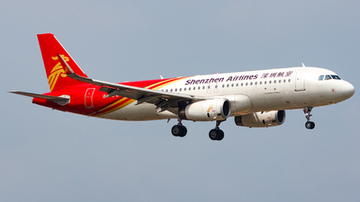 A picture of B8181 - Airbus A320232 - Shenzhen Airlines - © Aaron_ZSAM
