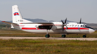 P-533 - Antonov An-24RV - Air Koryo