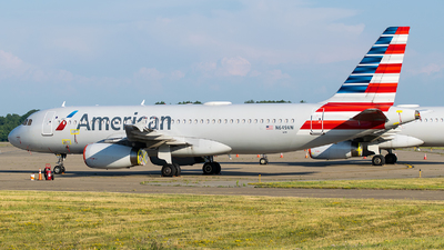 A picture of N649AW - Airbus A320232 - American Airlines - © Evan Dougherty