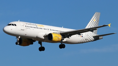 EC-HQI - Airbus A320-214 - Vueling Airlines