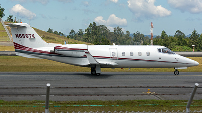 A picture of N666TK - Learjet 55 - [55038] - © Juan Jose