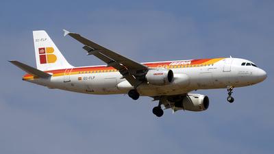 EC-FLP - Airbus A320-211 - Iberia