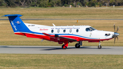 VH-OWY - Pilatus PC-12/47E - Royal Flying Doctor Service of Australia (Western Operations)