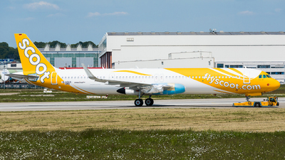 D-AZAX - Airbus A321-271NX - Scoot