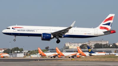 G-NEOY - Airbus A321-251NX - British Airways