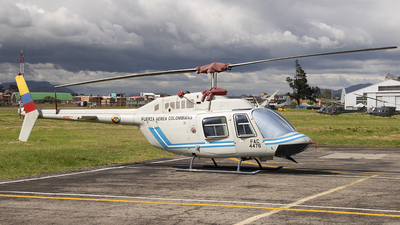 FAC4476 - Bell 206B JetRanger III - Colombia - Air Force