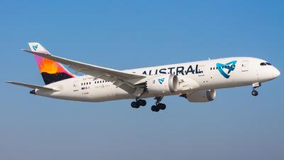 A picture of FOLRB - Boeing 7878 Dreamliner - Air Austral - © Adam Szczepkowski