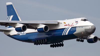 RA-82068 - Antonov An-124-100 Ruslan - Polet Flight