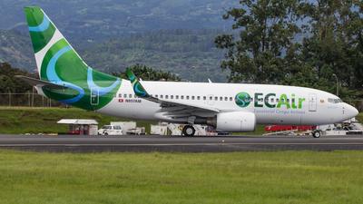 N857AM - Boeing 737-752 - ECAir - Equatorial Congo Airlines (PrivatAir)
