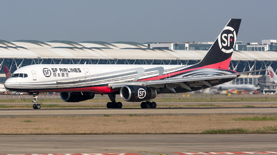 A picture of B2845 - Boeing 7572Z0(PCF) - SF Airlines - © BobH
