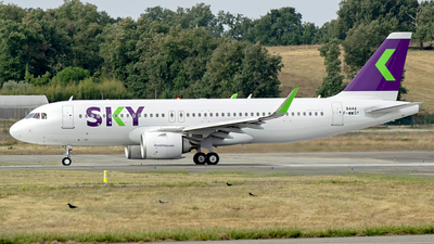 F-WWDY - Airbus A320-251N - Sky Airline
