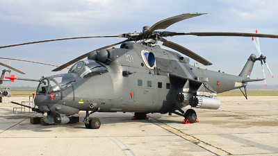 35101 - Mil Mi-35M Hind - Serbia - Air Force