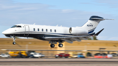 N21FR - Bombardier BD-100-1A10 Challenger 350 - Private