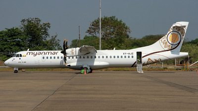 XY-AJZ - ATR 72-212A(600) - Myanmar National Airlines