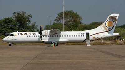 A picture of XYAJZ - ATR 72600 - Myanmar National Airlines - © Gerrit Griem
