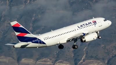 CC-CYI - Airbus A319-132 - LATAM Airlines