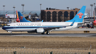A picture of B5339 - Boeing 73781B - China Southern Airlines - © Liu Yonggang