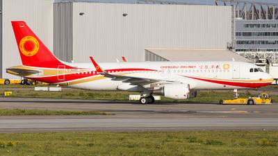 D-AUAH - Airbus A320-214 - Chengdu Airlines