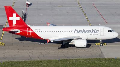 HB-JVK - Airbus A319-112 - Helvetic Airways