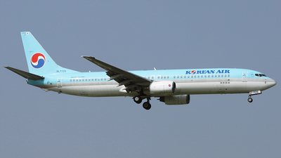 A picture of HL7726 - Boeing 7379B5 - Korean Air - © REDSOX