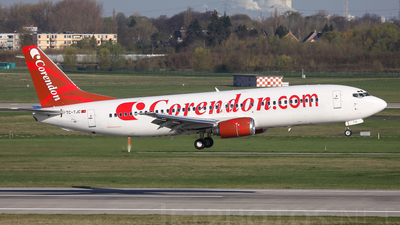 TC-TJC - Boeing 737-4Q8 - Corendon Airlines