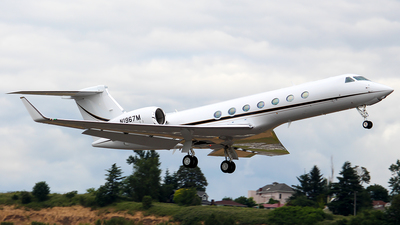 N1967M - Gulfstream G550 - Private