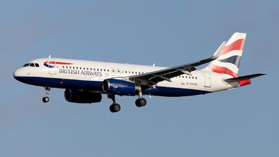 G-EUYU - Airbus A320-232 - British Airways