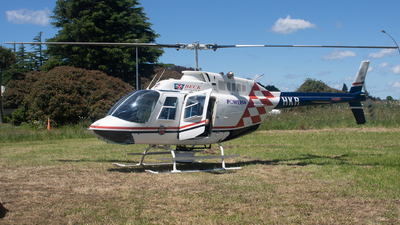 ZK-HKR - Bell 206B JetRanger III - Beck Helicopters