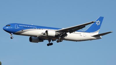 4X-ISR - Boeing 767-338(ER) - Israel - Government