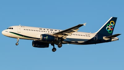 SX-OAS - Airbus A320-232 - Olympic Air
