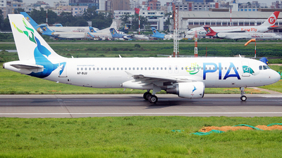 AP-BLU - Airbus A320-214 - Pakistan International Airlines (PIA)
