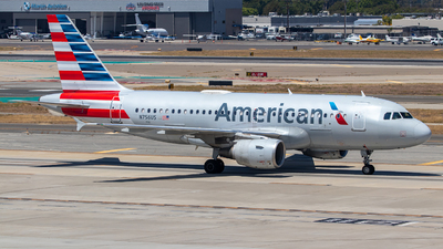 A picture of N756US - Airbus A319112 - American Airlines - © Wes Loeffler