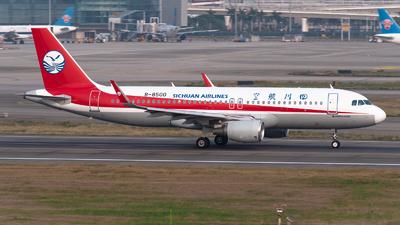 A picture of B8500 - Airbus A320214 - Sichuan Airlines - © Shiori Daredemo Daisuki