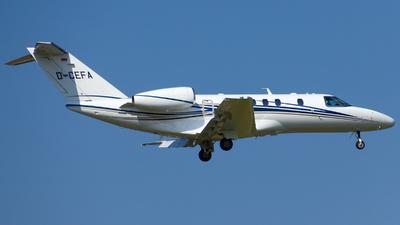 D-CEFA - Cessna 525C CitationJet 4 - E-Aviation