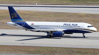 SU-BQJ - Airbus A320-232 - Nile Air