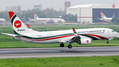 S2-AEQ - Boeing 737-8HO - Biman Bangladesh Airlines