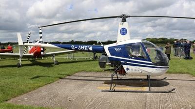 G-JHEW - Robinson R22 Beta - Heli Air